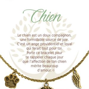 [Clock It To Ya] Collier De Charme - Chien Or
