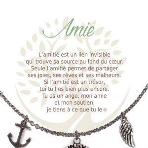 [Clock It To Ya] Collier De Charme - Amie Argent