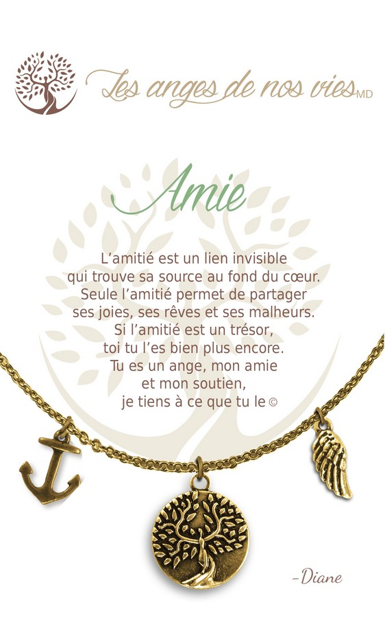 [Clock It To Ya] Collier De Charme - Amie Or