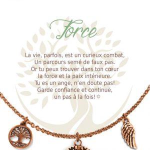 [Clock It To Ya] Collier De Charme - Force Cuivre