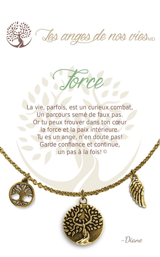 [Clock It To Ya] Collier De Charme - Force Or