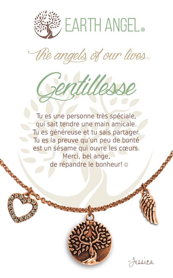 [Clock It To Ya] Collier De Charme - Gentillesse Cuivre