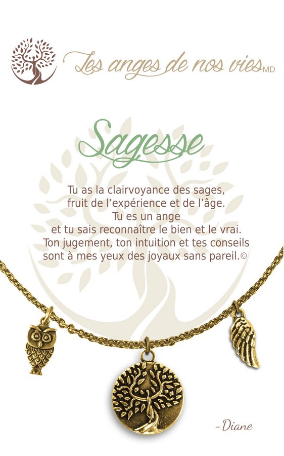 [Clock It To Ya] Collier De Charme - Sagesse Or