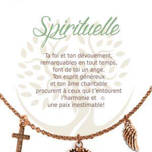 [Clock It To Ya] Collier De Charme - Spirituelle Cuivre