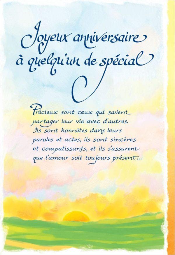 [Incognito] Carte De Souhaits - Joyeux Anniversaire Á...frc301