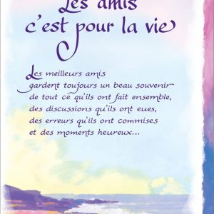 [Incognito] Carte De Souhaits - Les Amis C'est Pour La Vie Frc314