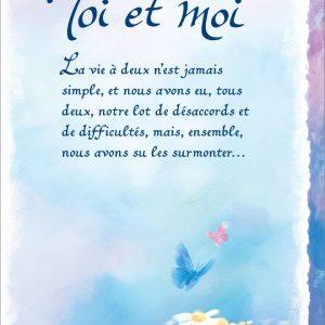 [Incognito] Carte De Souhaits - Toi Et Moi Frc318