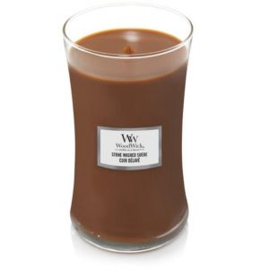 [Woodwick] Bougie Large Stone Washed Suede 610 G