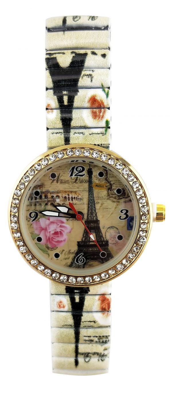 [Clock It To Ya] Montre Extensible Ecosse Femme 2066 Small-e