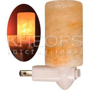 [Khéops] Veilleuse Électrique Lampe De Sel Himalaya Poli