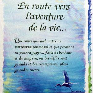 [Incognito] Carte De Souhaits - En Route Vers L'aventure De...frc28