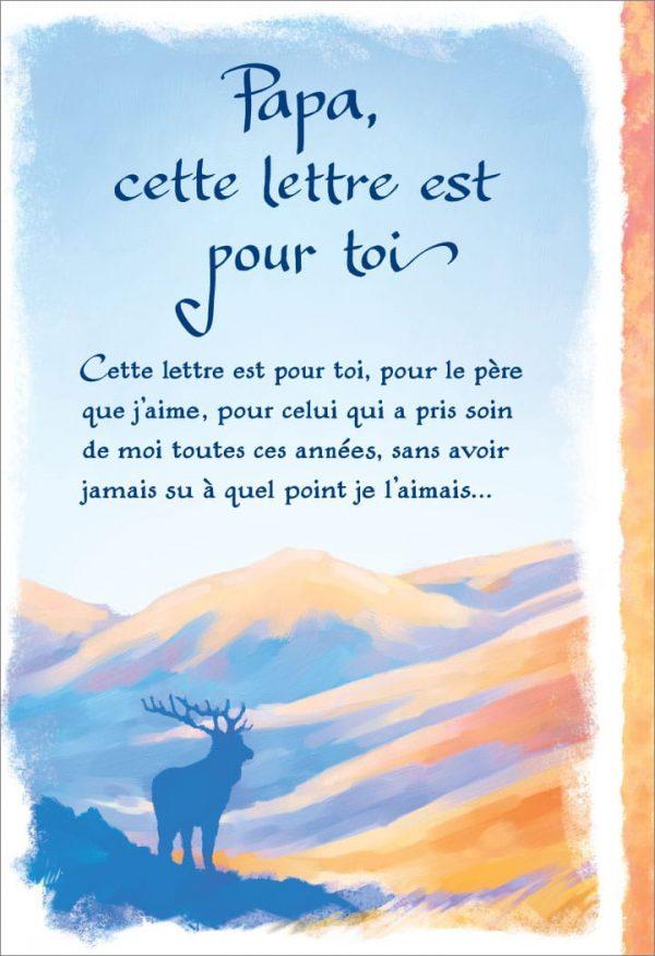 [Incognito] Carte De Souhaits - Papa, Cette Lettre Est...frc312