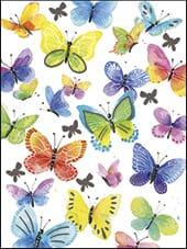 [Incognito] Mini Carte De Souhaits Papillons 5-284