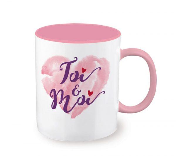 [Incognito] Tasse En Céramique - Toi & Moi