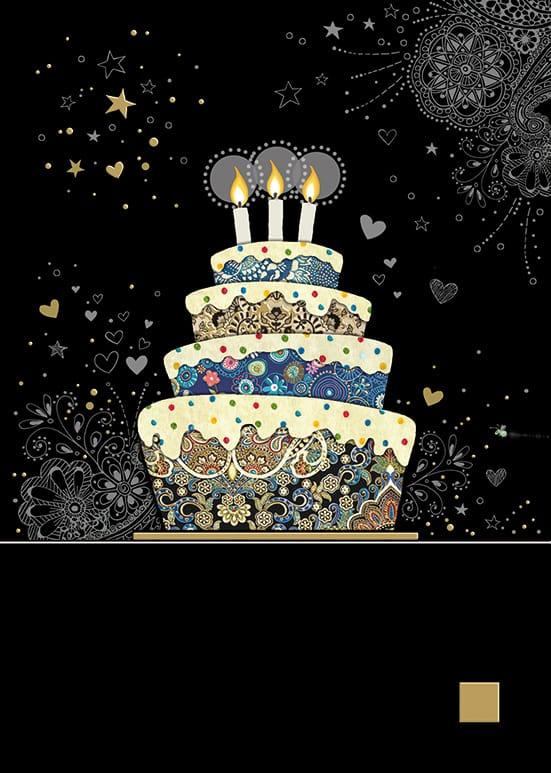 [Incognito] Carte De Souhaits Decorative Cake M132