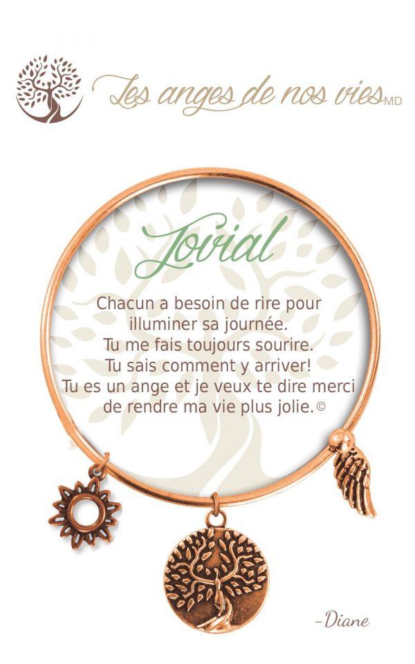 [Clock It To Ya] Bracelet De Charme Jovial Cuivre