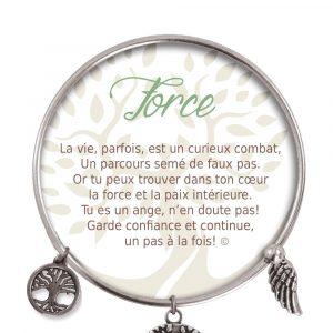 [Clock It To Ya] Bracelet De Charme Force Argent