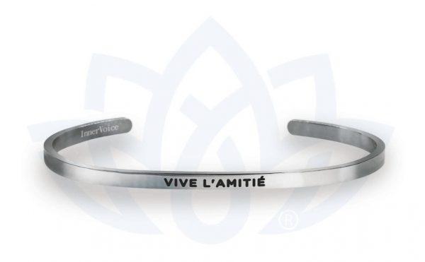 [Clock It To Ya] Bracelet Innervoice - Vive L'amitié