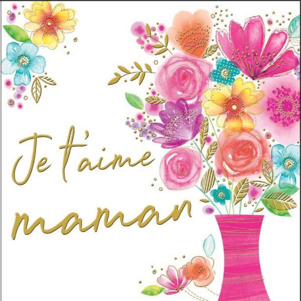[Incognito] Carte De Souhaits - Je T'aime Maman Kb010f