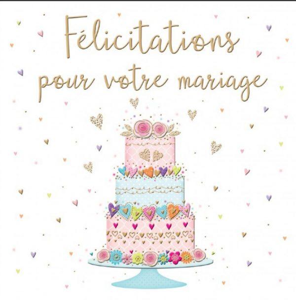 [Incognito] Carte De Souhaits - Félicitation Pour Votre Mariage Lu023f