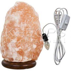 [Khéops] Lampe De Sel Himalaya Avec Fils Électriques