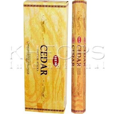 [Khéops] Encens Hexagonal Cedar (20 Bâtons)