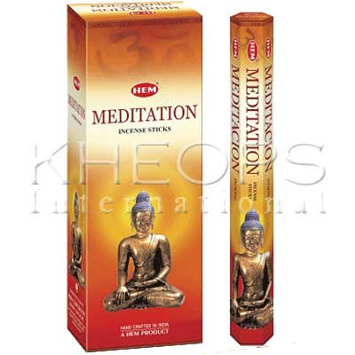 [Khéops] Encens Hexagonal Meditation (20 Bâtons)