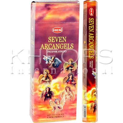 [Khéops] Encens Hexagonal Seven Arcangels (20 Bâtons)