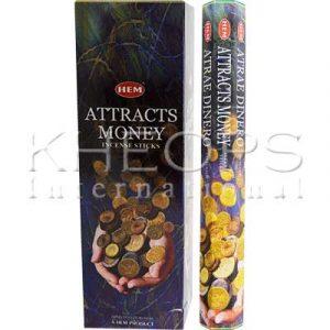 [Khéops] Encens Hexagonal Attracts Money (20 Bâtons)