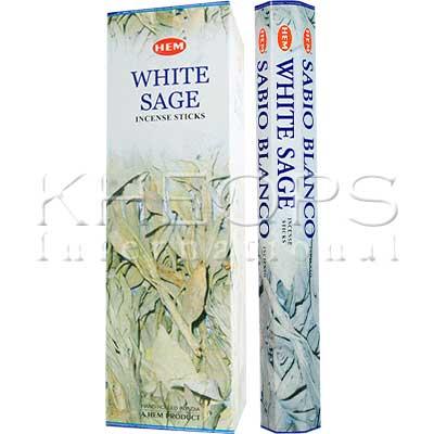 [Khéops] Encens Hexagonal White Sage (20 Bâtons)