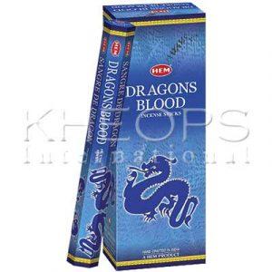 [Khéops] Encens Hexagonal Dragons Blood (20 Bâtons)
