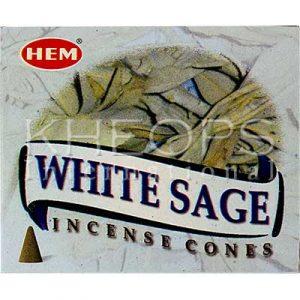 [Khéops] Encens White Sage (10 Cônes)