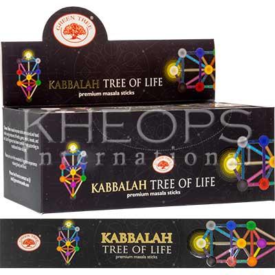 [Khéops] Encens Kabbalah Tree Of Life (15 Bâtons)