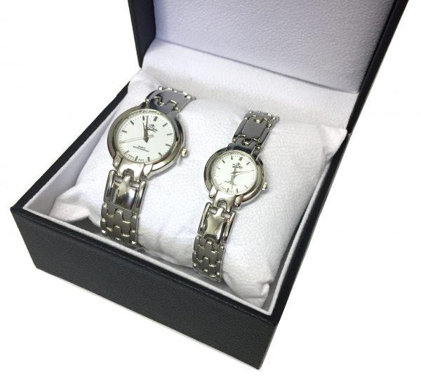 [Clock It To Ya] Ensemble Montre Ecosse Femme Et Homme Lgs#66